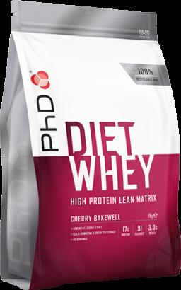 PhD Diet Whey Cherry Bakewell (1000 gr)