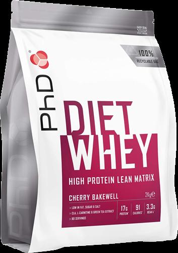 PhD Diet Whey Cherry Bakewell (2000 gr)