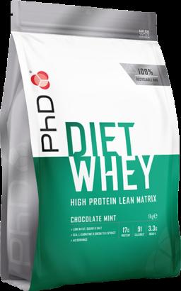 PhD Diet Whey Chocolate Mint (1000 gr)