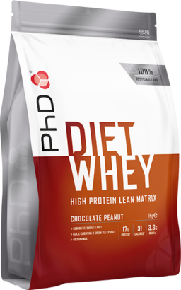 PhD Diet Whey Chocolate Peanut (1000 gr)