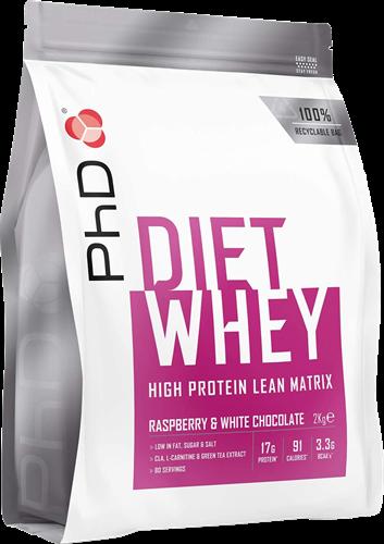 PhD Diet Whey Raspberry & White Chocolate (2000 gr)