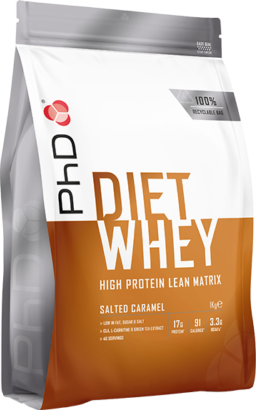 PhD Diet Whey Salted Caramel (1000 gr)