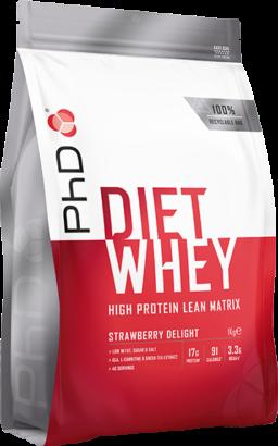 PhD Diet Whey Strawberry Delight (1000 gr)