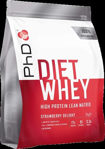 PhD Diet Whey Strawberry Delight (2000 gr)