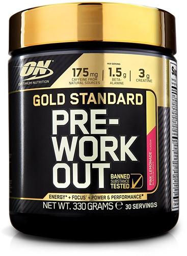 Gold Standard Pre-Workout Pink Lemonade (330 gr)
