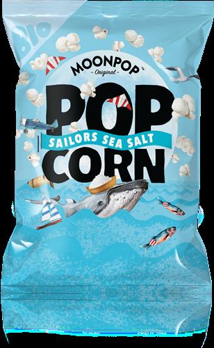 Moonpop Popcorn Sea Salt (60 gr)