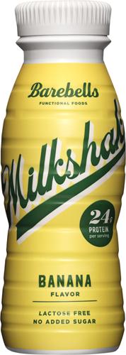 Barebells Milkshake Banana (1 x 330 ml) THT 12-2020