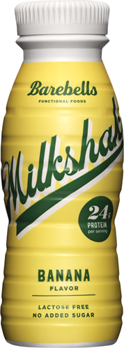 Barebells Milkshake Banana (1 x 330 ml)