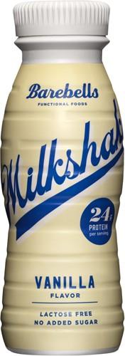 Barebells Milkshake Vanilla (1 x 330 ml) Ten minste houdbaar tot: 01-12-2020