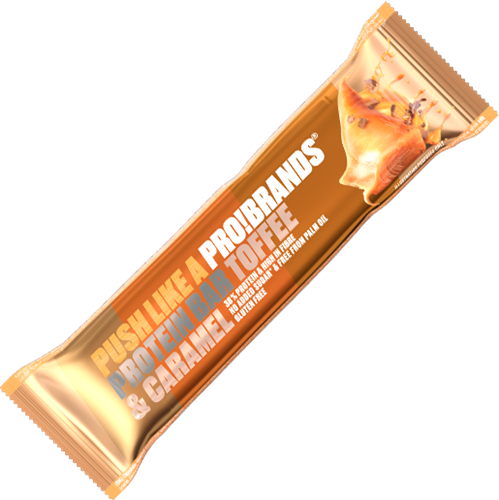 Protein Pro Bar Toffee Caramel (24 x 45 gr)