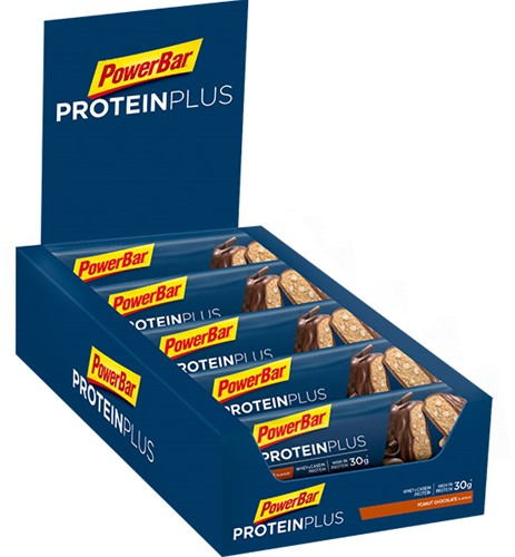Protein Plus Bar 33% Chocolate Peanut (10 x 90 gr) Ten minste houdbaar tot: 3-2021.