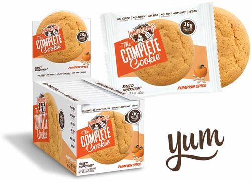 Complete Cookie Pumpkin Spice (12 x 113 gr)