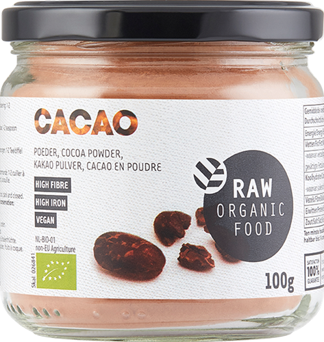 RAW Cacao Poeder (100 gr)