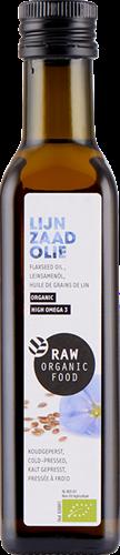 RAW Lijnzaadolie (250 ml)