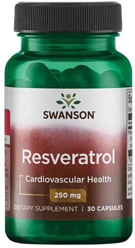Swanson Resveratrol 250 mg (30 Caps)