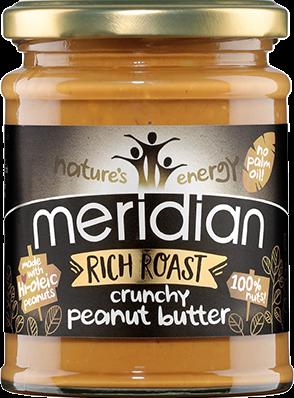 Meridian Rich Roast Peanut Butter Crunchy (280 gr)