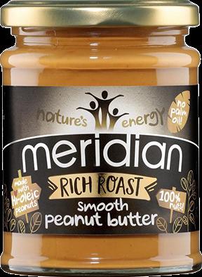 Meridian Rich Roast Peanut Butter Smooth (280 gr)