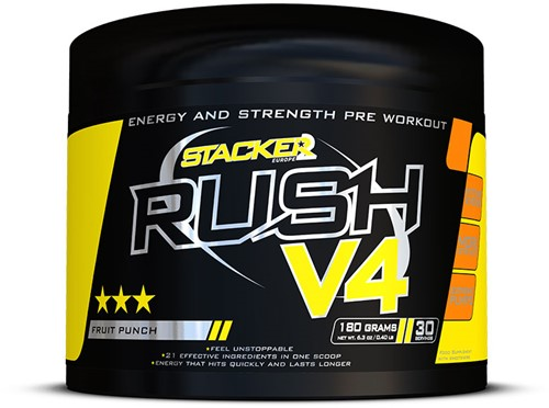 Rush V4 Fruit Punch (180 gr)