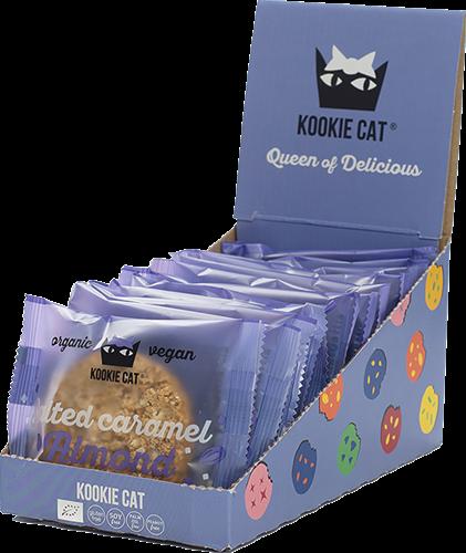 Kookie Cat Salted Caramel Almond (12 x 50 gr)