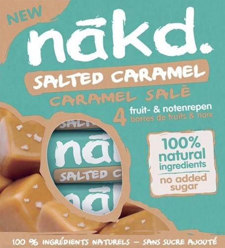Nakd Bars Salted Caramel (4 x 35 gr)