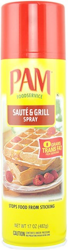 PAM Cooking Spray Saute & Grill (482 ml)