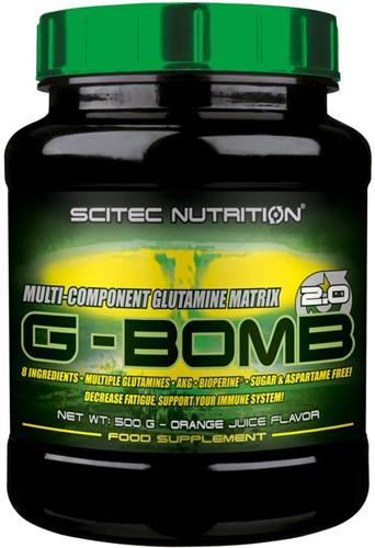 Scitec G-Bomb 2.0 Orange Juice (500 gr)