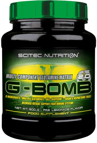 Scitec G-Bomb 2.0 Pink Lemonade (500 gr)