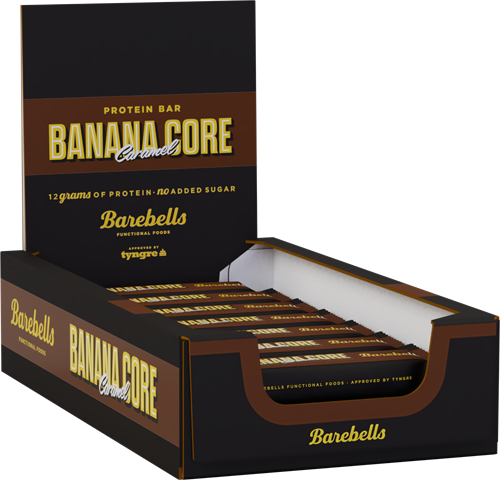 Barebells Core Bar Banana (18 x 35 gr) Ten minste houdbaar tot 10-03-2021