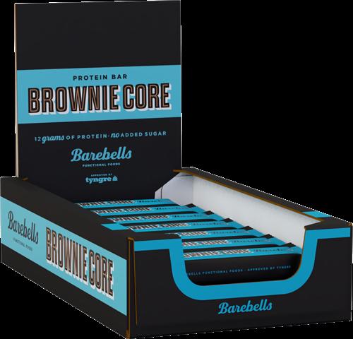 Barebells Core Bar Brownie (18 x 35 gr) Ten minste houdbaar tot: 4-2021.