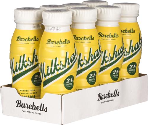 Barebells Milkshake Banana (8 x 330 ml)