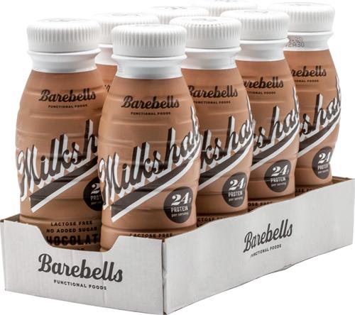 Barebells Milkshake Chocolate (8 x 330 ml)