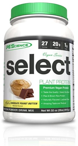 PES Select Vegan Protein Chocolate Peanut Butter (918 gr)