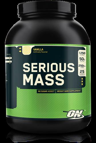 Serious Mass Vanilla (2724 gr)
