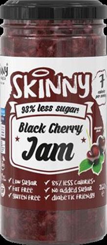 Skinny #NotGuilty Low Sugar Jam Black Cherry (260 gr)