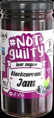 Skinny #NotGuilty Low Sugar Jam Blackcurrant (260 gr)