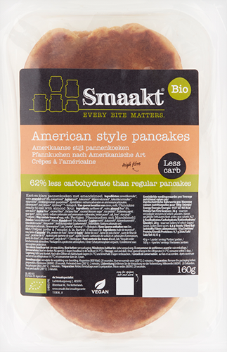 Smaakt Less Carb American Style Pancakes (160 gr)
