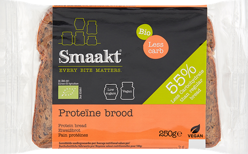Smaakt Less Carb Proteïne Brood (250 gr)