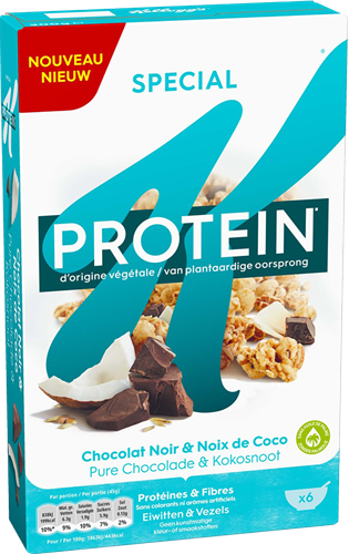 Kellogg's Special K Protein Crunch Chocolate Coconut (300 gr)