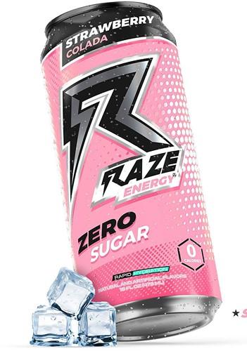 Raze Energy Drink Strawberry Colada (1 x 473 ml)