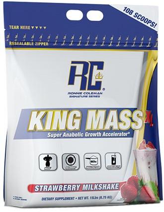 King Mass XL Strawberry Milkshake (6750 gr)