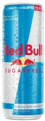 Red Bull Sugar Free (24 x 250 ml)