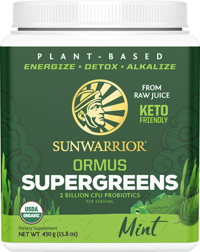 Sunwarrior Ormus Super Greens Mint (450 gr)