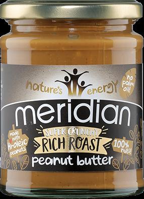 Meridian Super Crunchy Rich Roast Peanut Butter (280 gr)