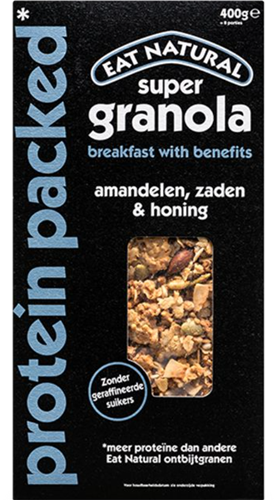 Eat Natural Super Granola Protein Packed (400 gr)