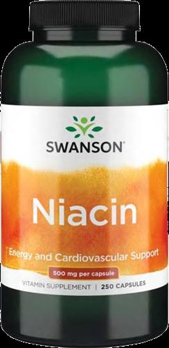 Swanson Niacin 500MG (250 caps)