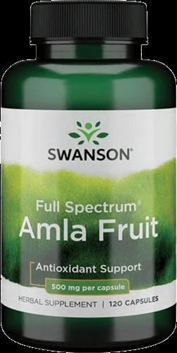 Swanson Full Spectrum Amla Fruit 500MG (120 caps)