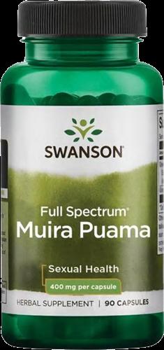 Swanson Full Spectrum Muira Puama 400MG (90 caps)