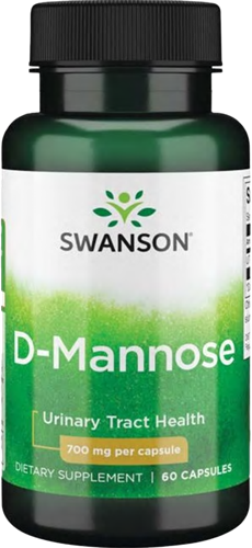 Swanson D-Mannose 700MG (60 caps)