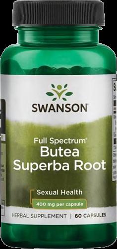 Swanson Full Spectrum Butea Superba Root 400MG (60 caps)