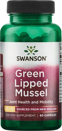 Swanson Green Lipped Mussel 500MG (60 Caps)